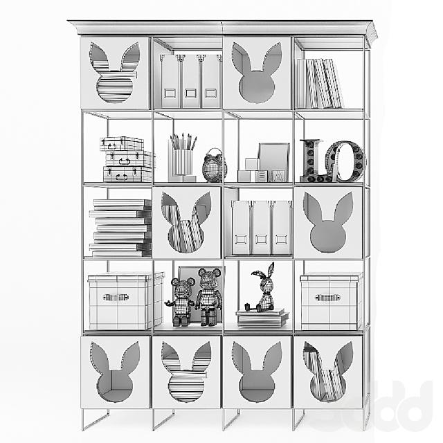 EFI Concept Kid / Мiss Bunny -стеллажи