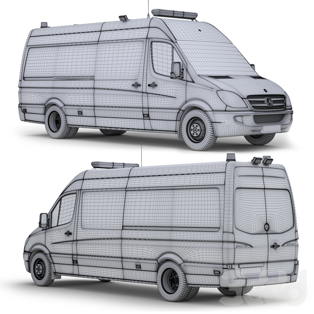Mercedes Sprinter 515 ПСА-ММ