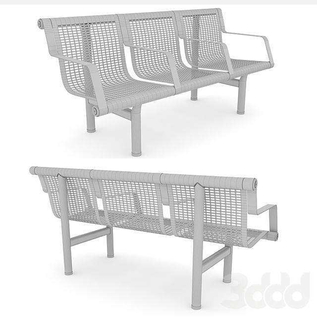 Скамейка «Keydar». Bench «Keydar»