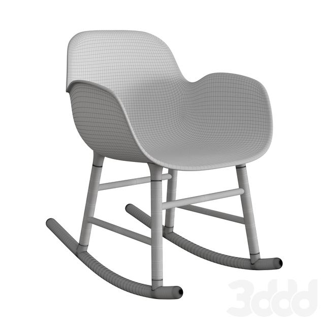 Form Rocking Armchair