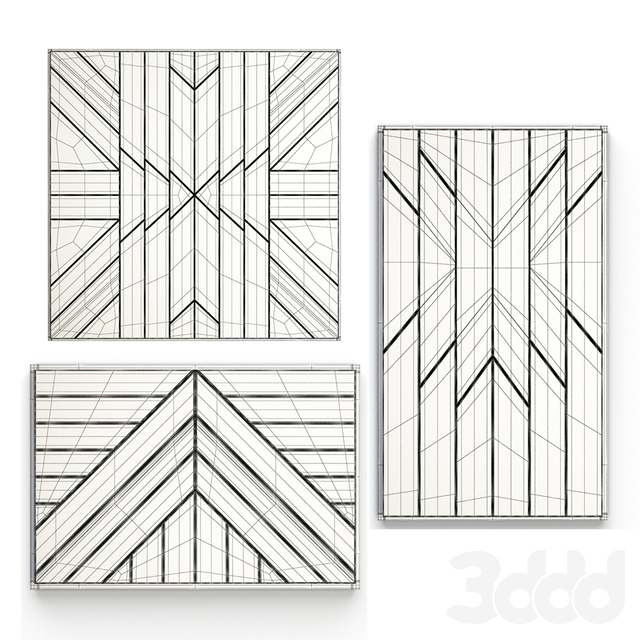 Geometric Ethnic Wall Decoration 1