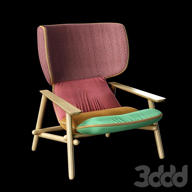 Кресло Lilo Wing Moroso