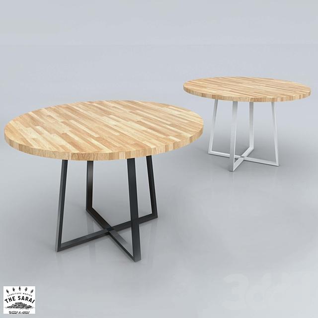 """(OM) Круглый стол """"Oak Round Plus"""""""