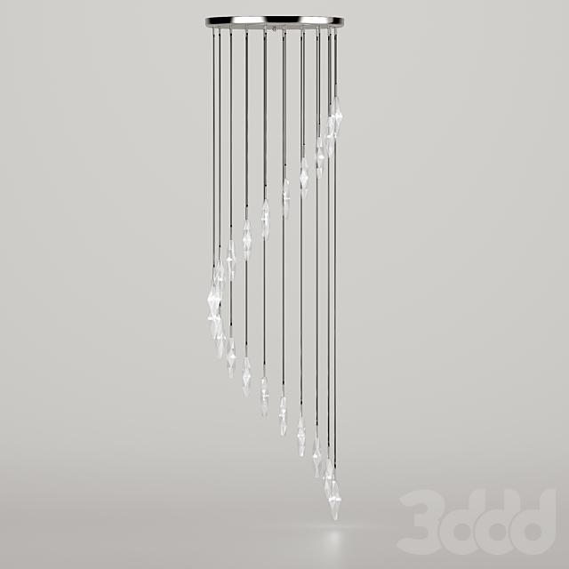 SEARCHLIGHT Sculptured Ice 888-20