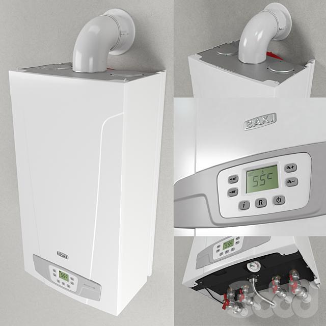 Котел отопительный газовый настенный Baxi Eco 4S