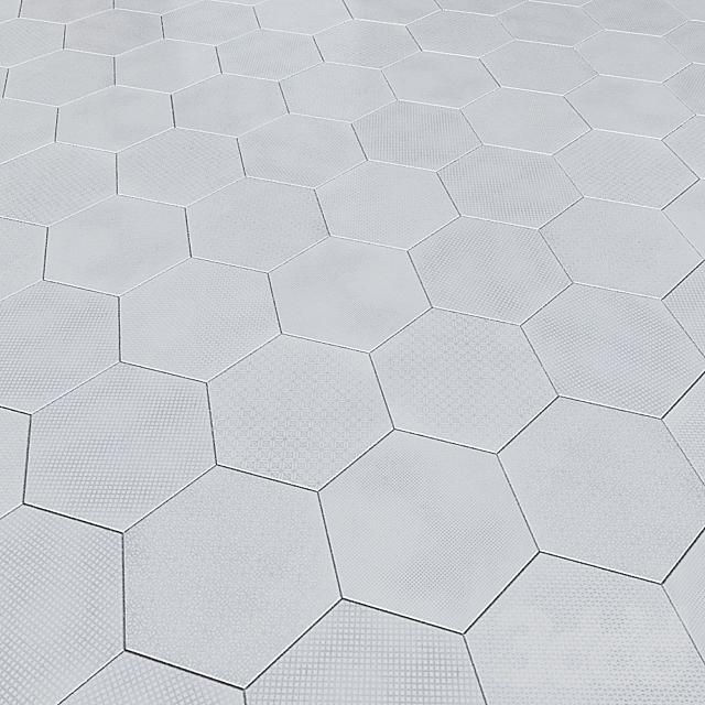 Керамогранит EQUIPE URBAN Hexagon Melange 5 вариантов