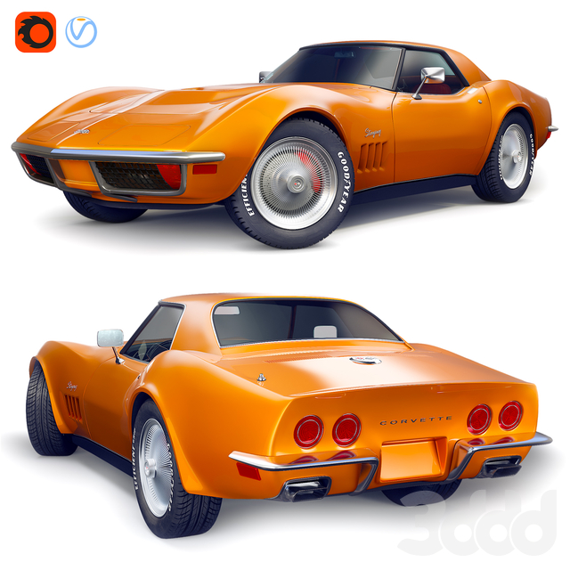 Chevrolet 1968 Corvette Stingray