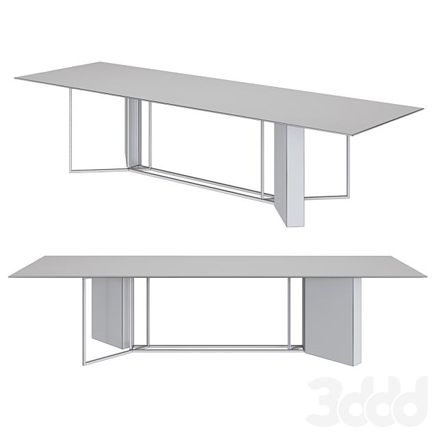 Meridiani Shine   Amadeus dining table