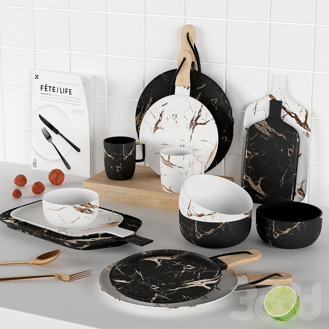 Kitchen Decorative set #3