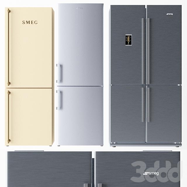 Набор холодильников Smeg