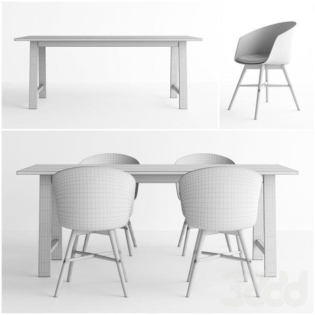Jysk Gadeskov Table + Favrbjerg Chair