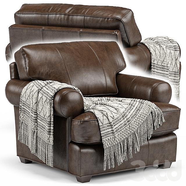 Arhaus Hadley Leather Chair