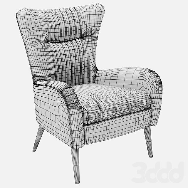 Uttermost Dax Accent Chair