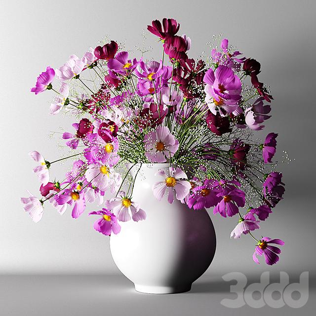 Букет из розовых цветов | Bouquet of pink flowers