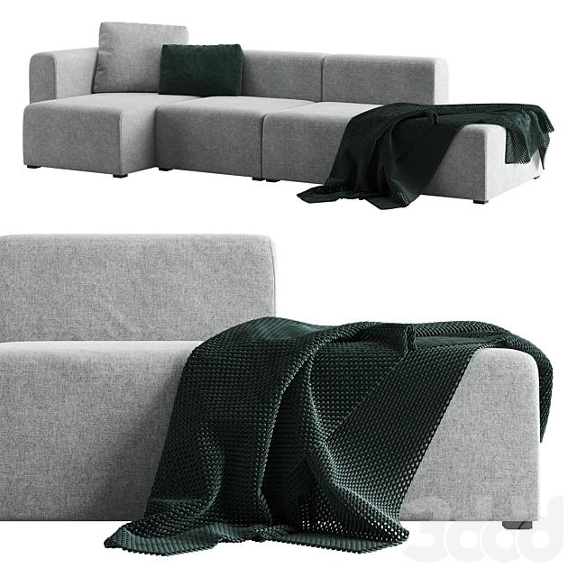 Диван модульный Hay Mags Sofa
