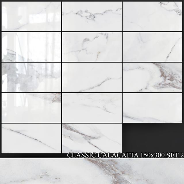Yurtbay Seramik Classic Calacatta 150x300 Set 2