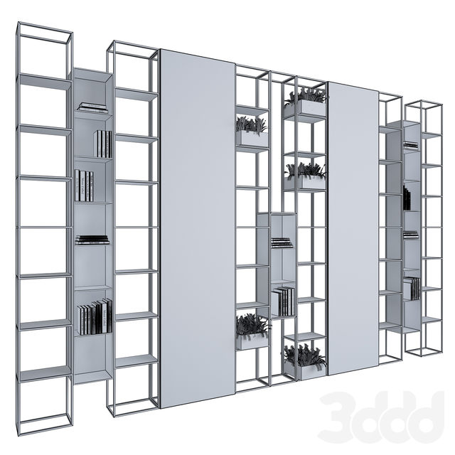 Metal & Marble shelf