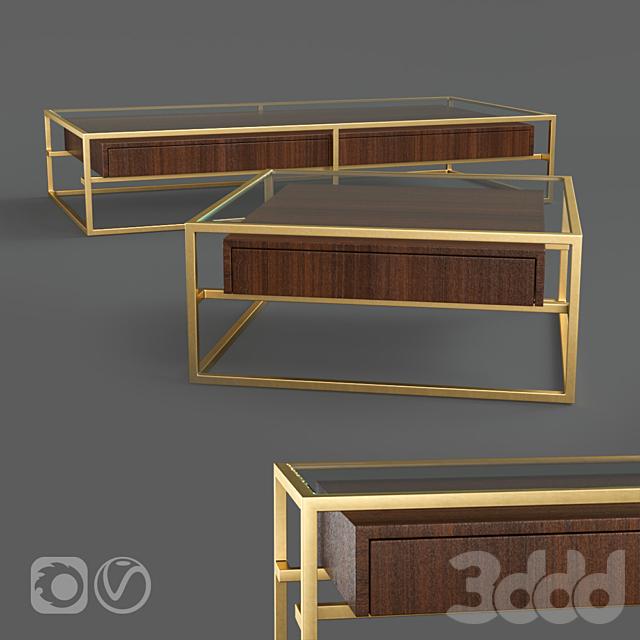 Restoration Hardware KENNEN COFFEE TABLE