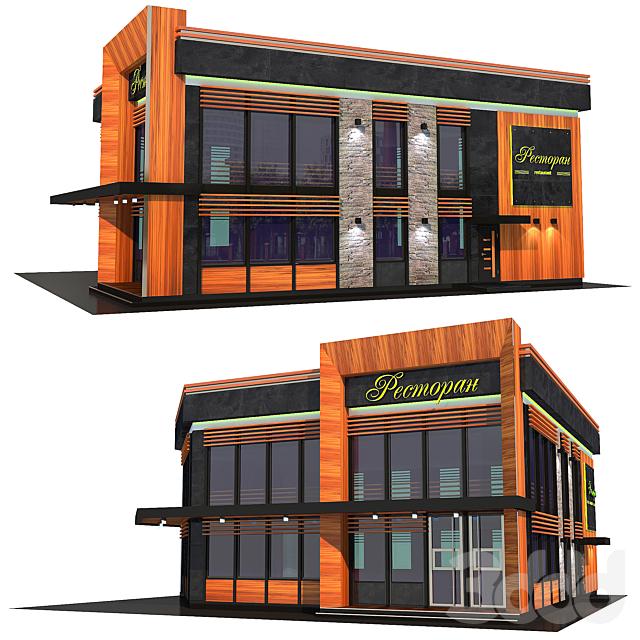 Architecture. Eco-restaurant