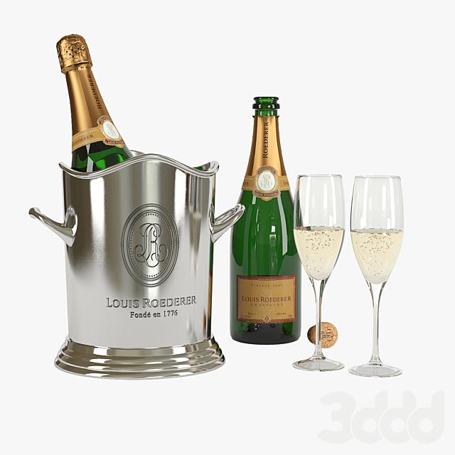 Louis Roederer Champagne Set