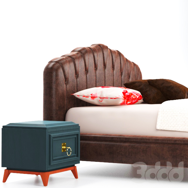 Enza home collection Elagente bed