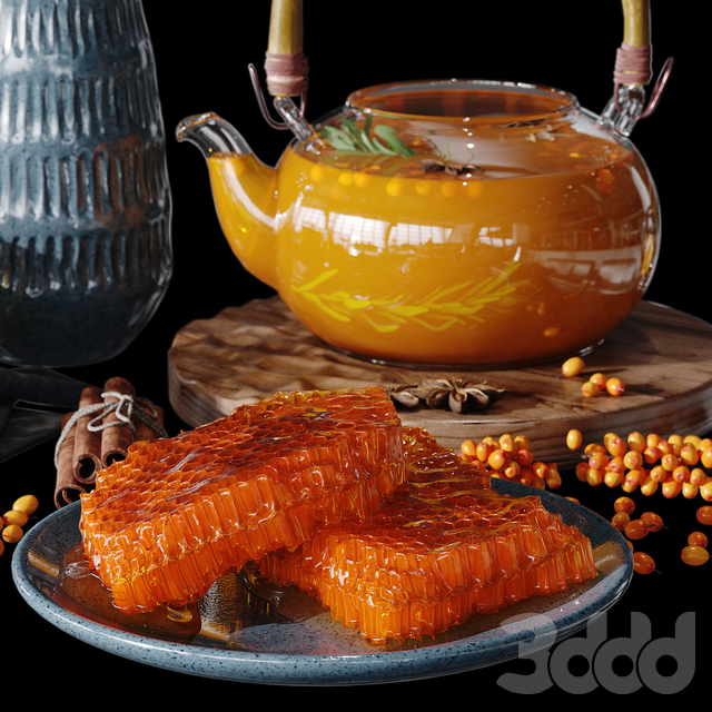 Honeycomb decorative set