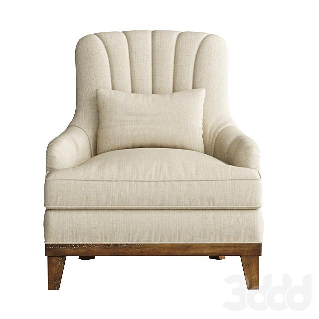 Uttermost, Denney Accent Chair