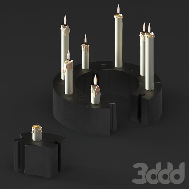 IKEA ВЭРМЕР Подсвечник для свечи/греющей свечи