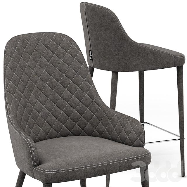 Modani Аlpine Gray Chair