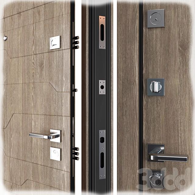 Входная металлическая дверь Галеон (Zimen)