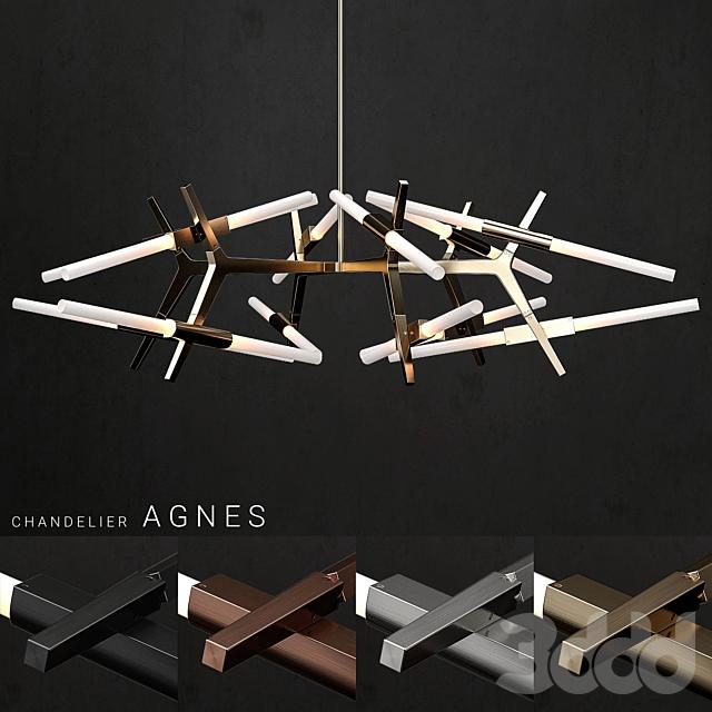 Chandelier Agnes 24 lights