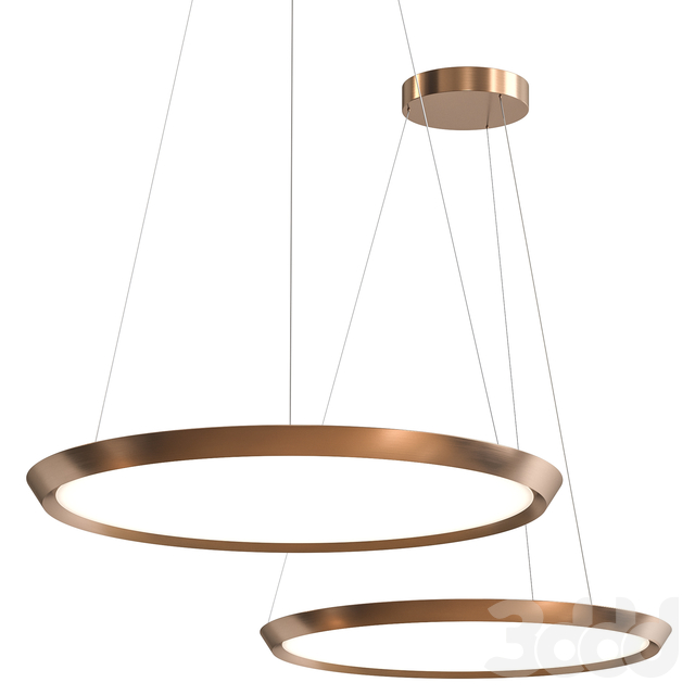 Saturn 60 Suspended Lamp by GROK