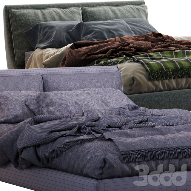 Attico Twils Bed