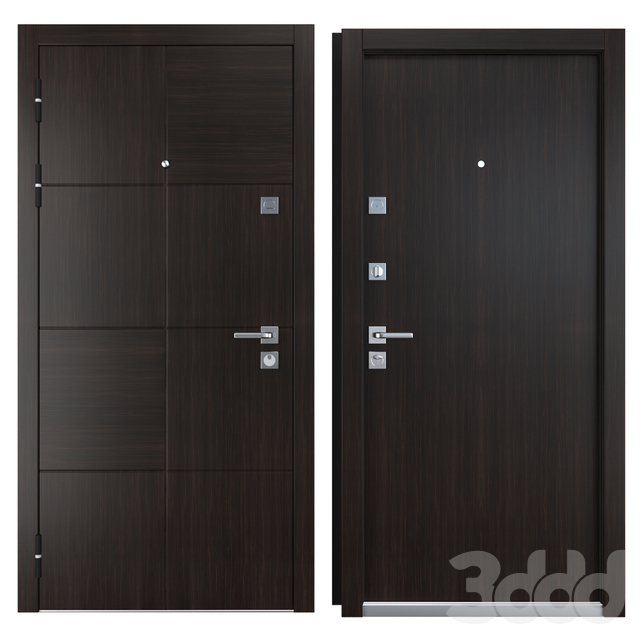 Входная металлическая дверь Block (Zimen)