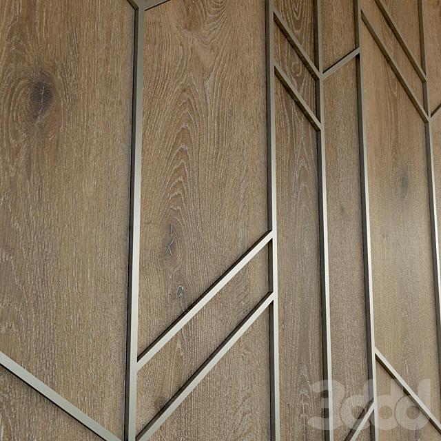 Стеновая панель из дерева. Декоративная стена. 57