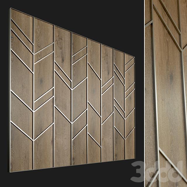 Стеновая панель из дерева. Декоративная стена. 58