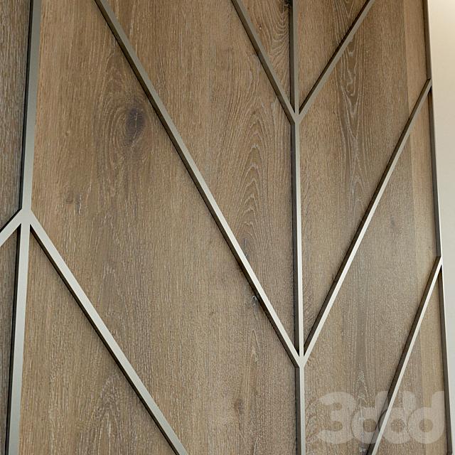 Стеновая панель из дерева. Декоративная стена. 61