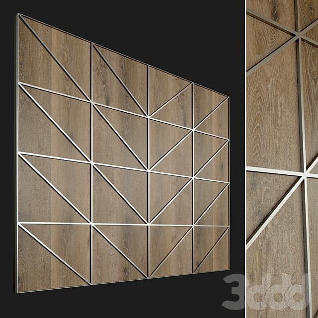 Стеновая панель из дерева. Декоративная стена. 63