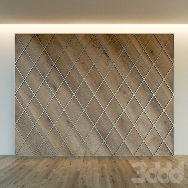 Стеновая панель из дерева. Декоративная стена. 64