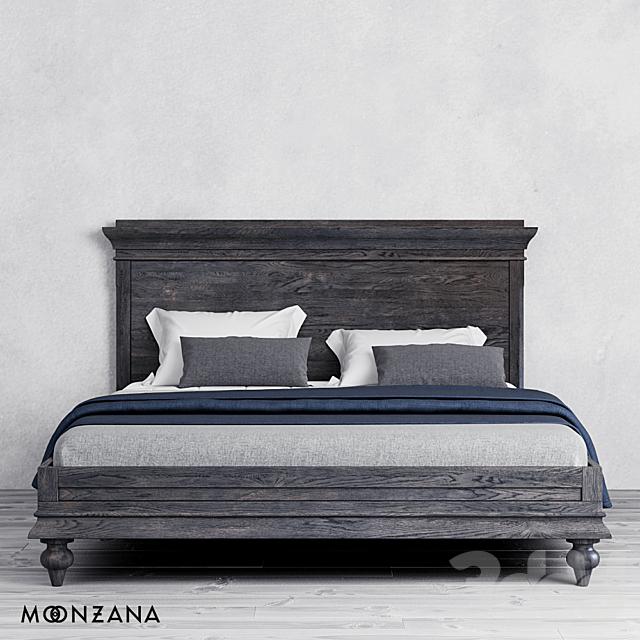Кровать Рейнленд без изножья. Moonzana
