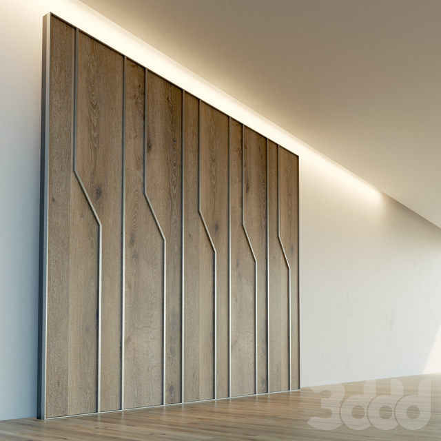 Стеновая панель из дерева. Декоративная стена. 82