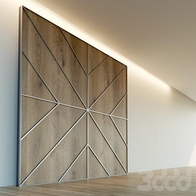 Стеновая панель из дерева. Декоративная стена. 84