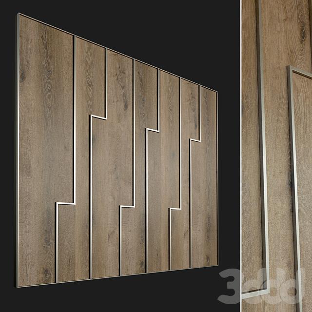 Стеновая панель из дерева. Декоративная стена. 85
