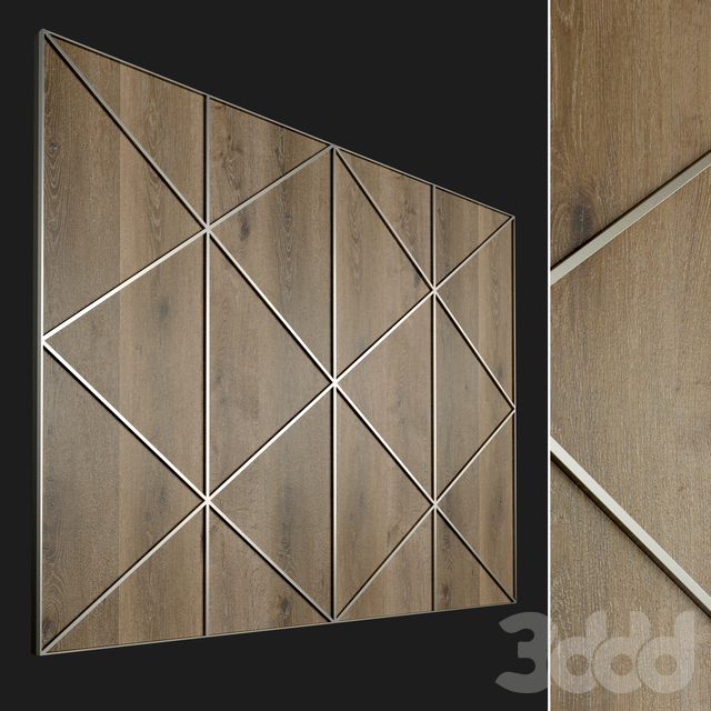 Стеновая панель из дерева. Декоративная стена. 87