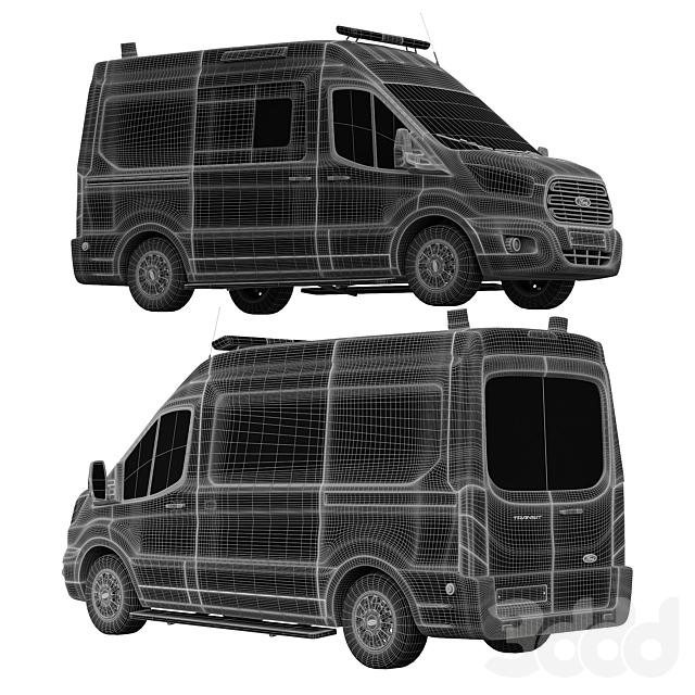 Ford Transit Скорая медицинская помощь