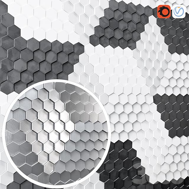 Rhombus honwycomb 2 mat