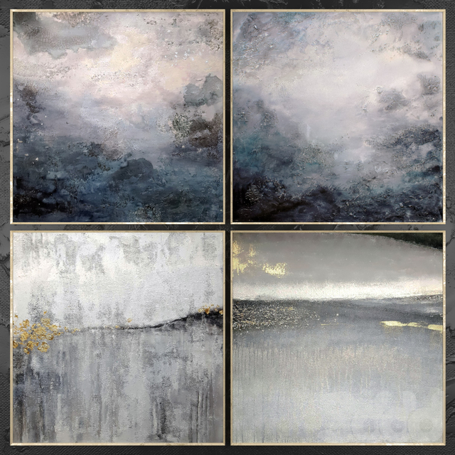 Paintings abstract | set 459