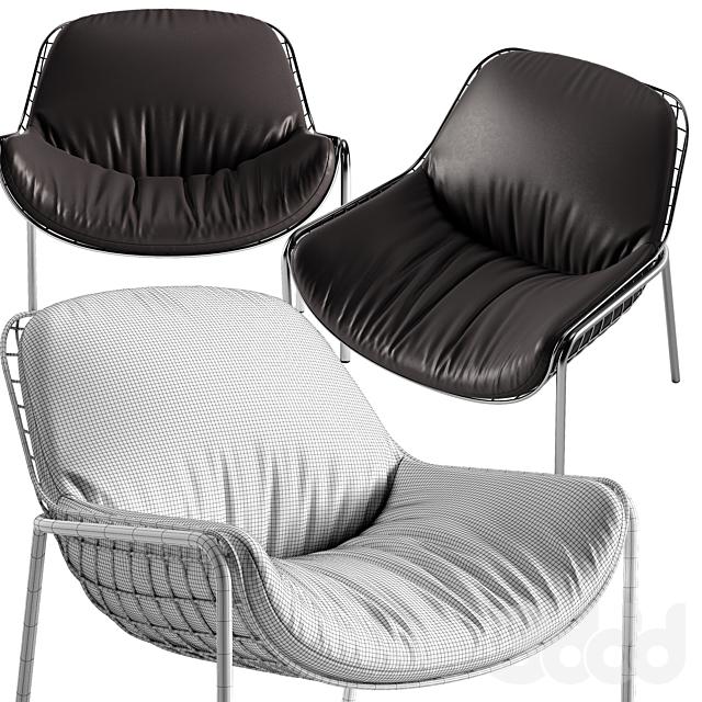 Natuzzi Lave chair