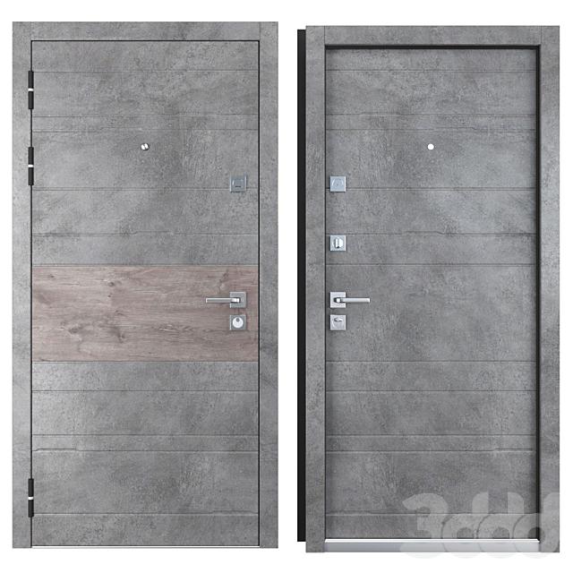 Входная металлическая дверь Тира (Zimen)