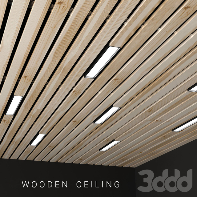 Wooden ceiling 3